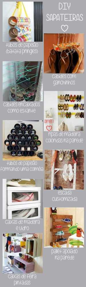 Sapateiras DIY
