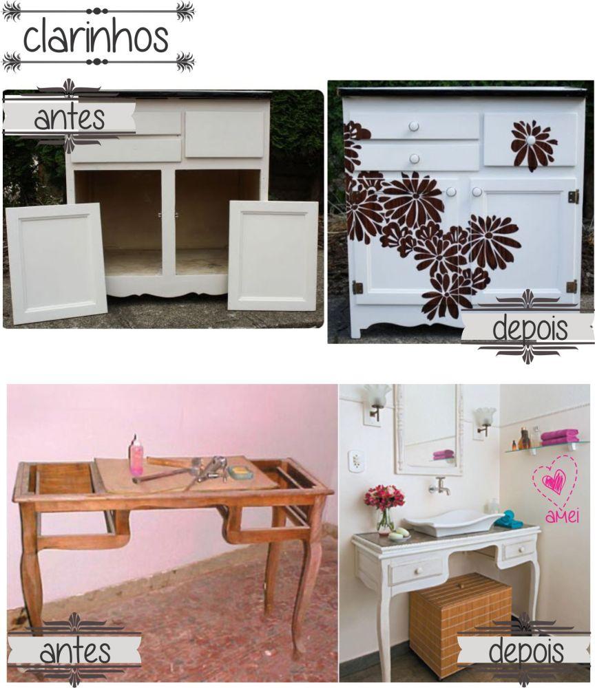 Reformando móveis antigos (4/5)