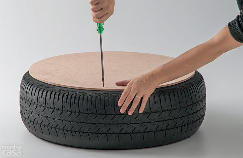 DIY Puff de pneu reciclado (4/6)
