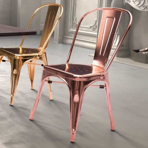 rose_gold_color_metal_dining_chair_stackable_chair
