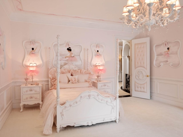 The Example Of Modern Ballerina Room Decor - Modern Design Ideas