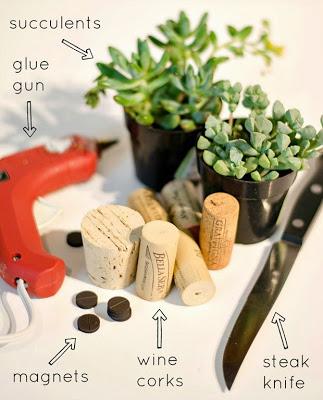 wine-cork-as-magnet-planter-step-2